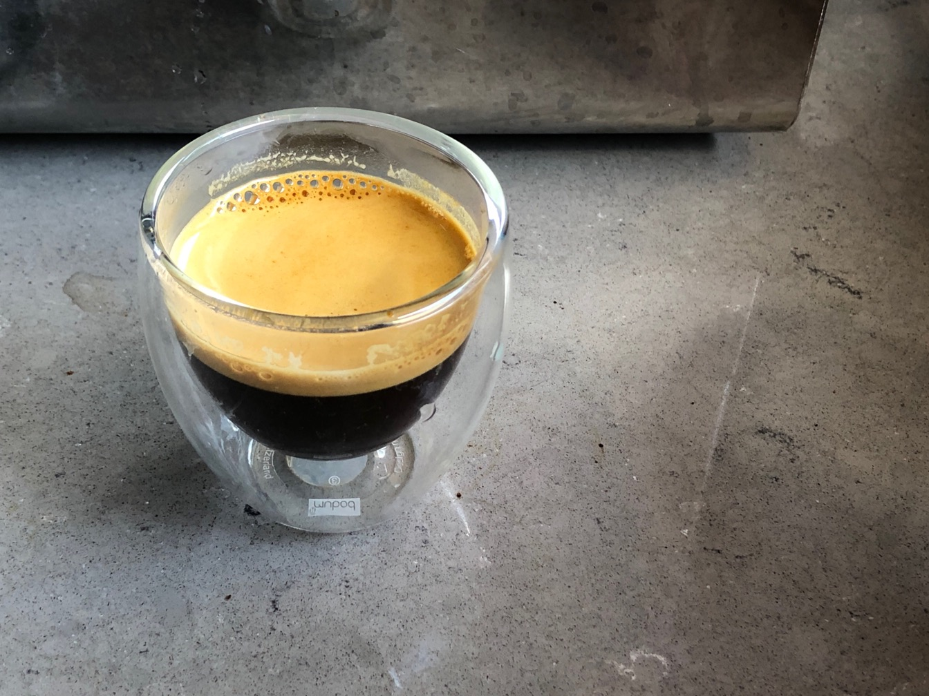 Photo of an espresso
