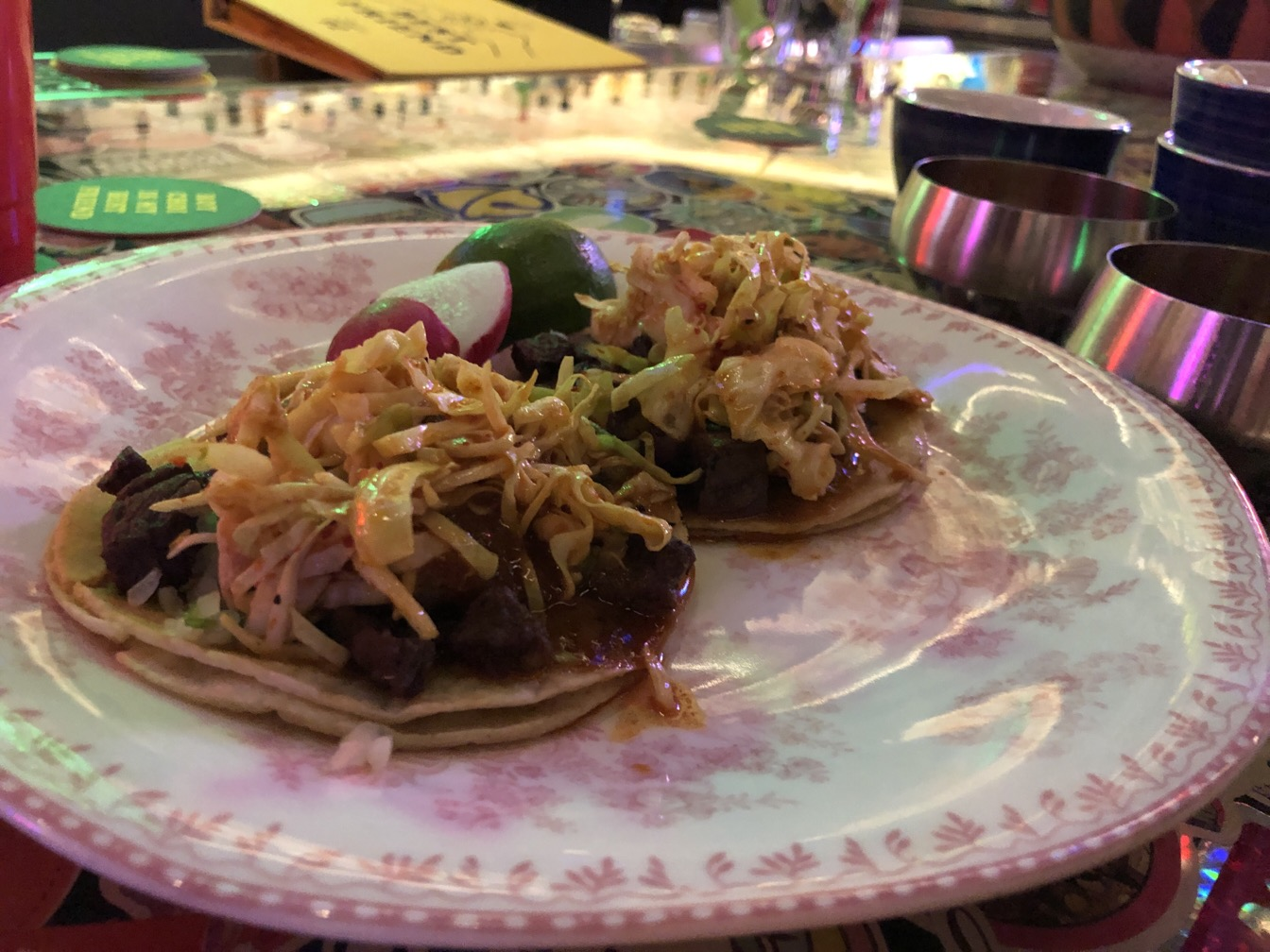Photo of short rib tacos